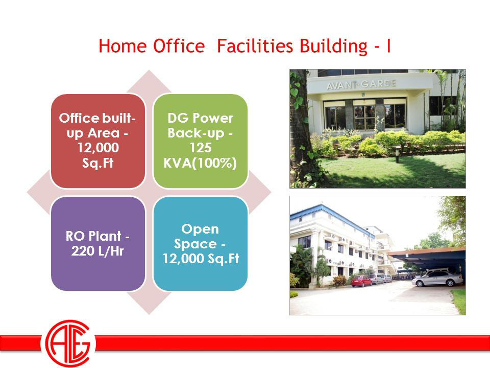 Home Office Facilities Building - I
