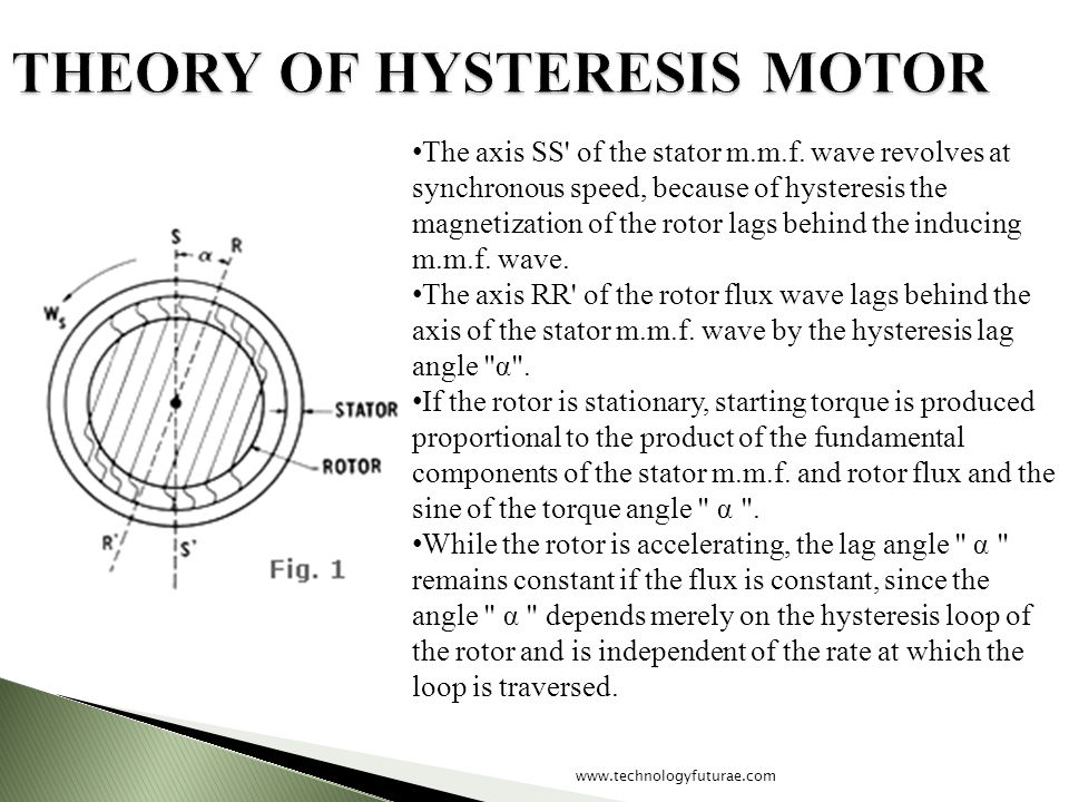 THEORY OF HYSTERESIS MOTOR