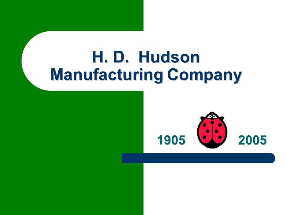 H. D. Hudson Manufacturing Company
