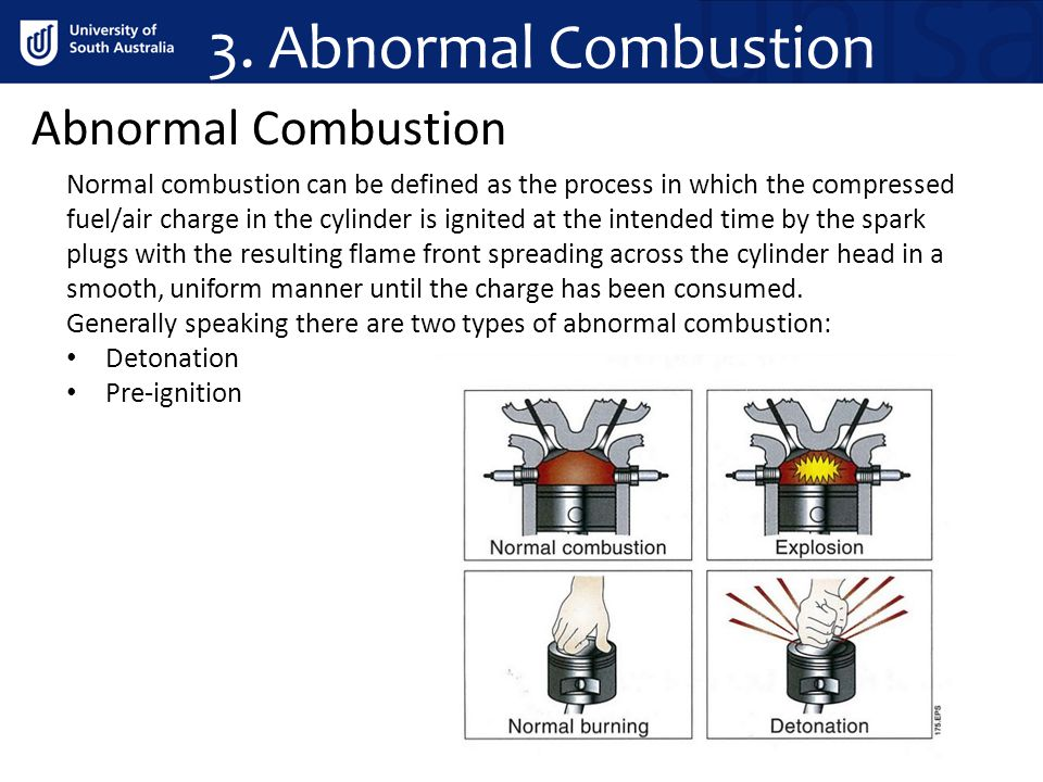 3. Abnormal Combustion Abnormal Combustion