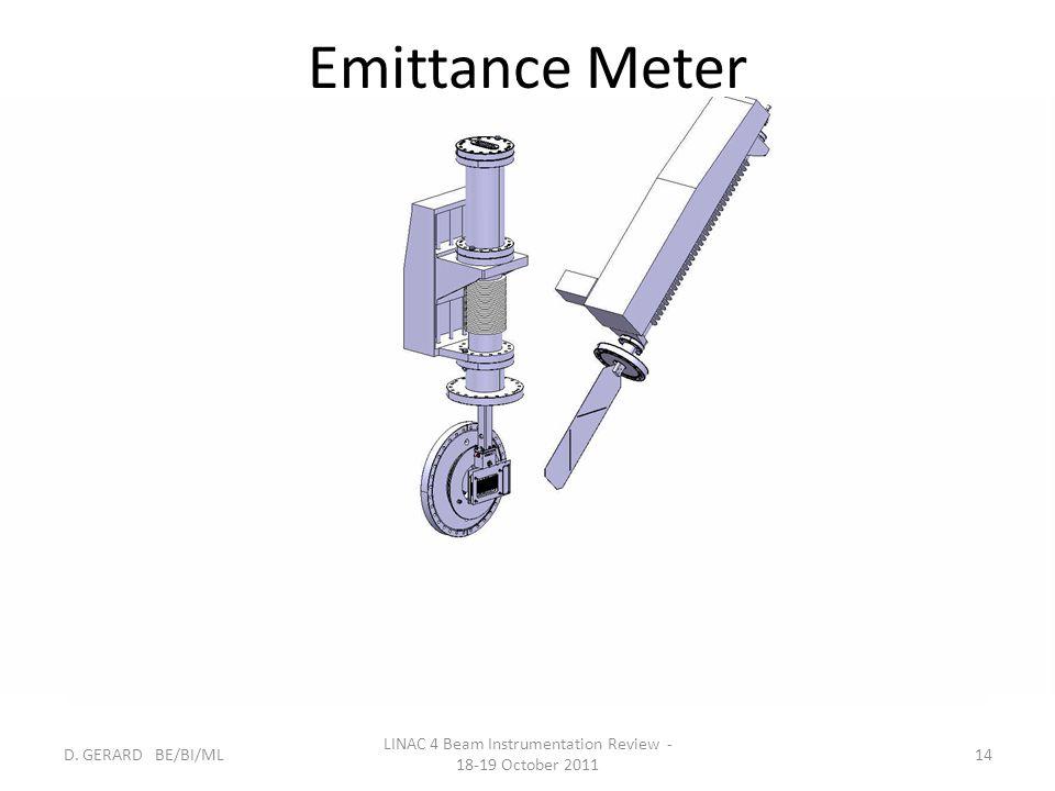 LINAC 4 Beam Instrumentation Review - 18-19 October 2011