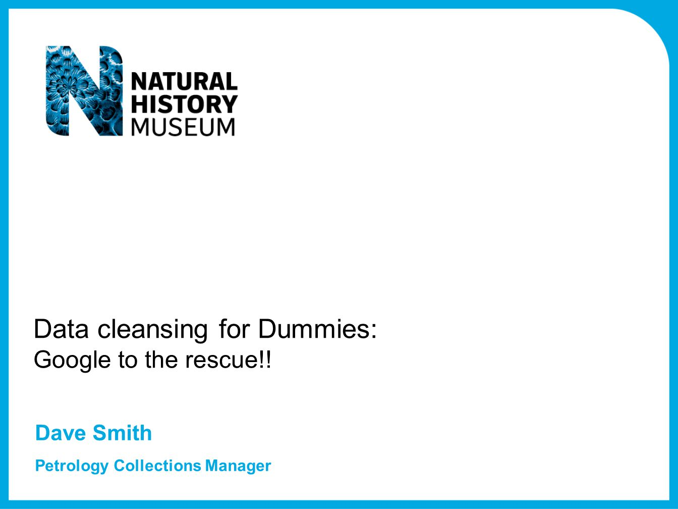 Data cleansing for Dummies: Google to the rescue!!