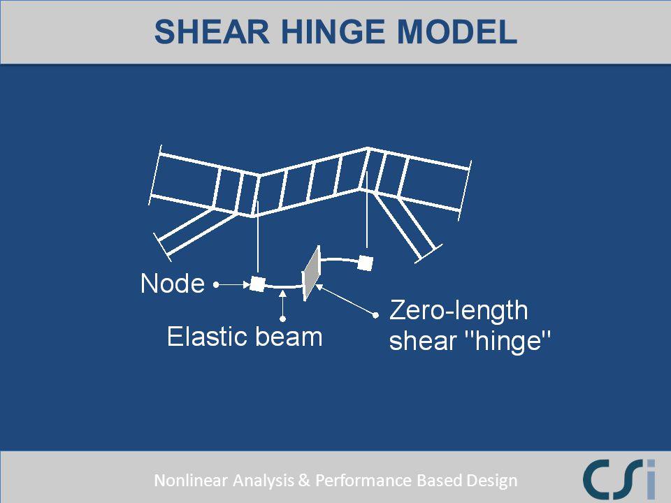 SHEAR HINGE MODEL
