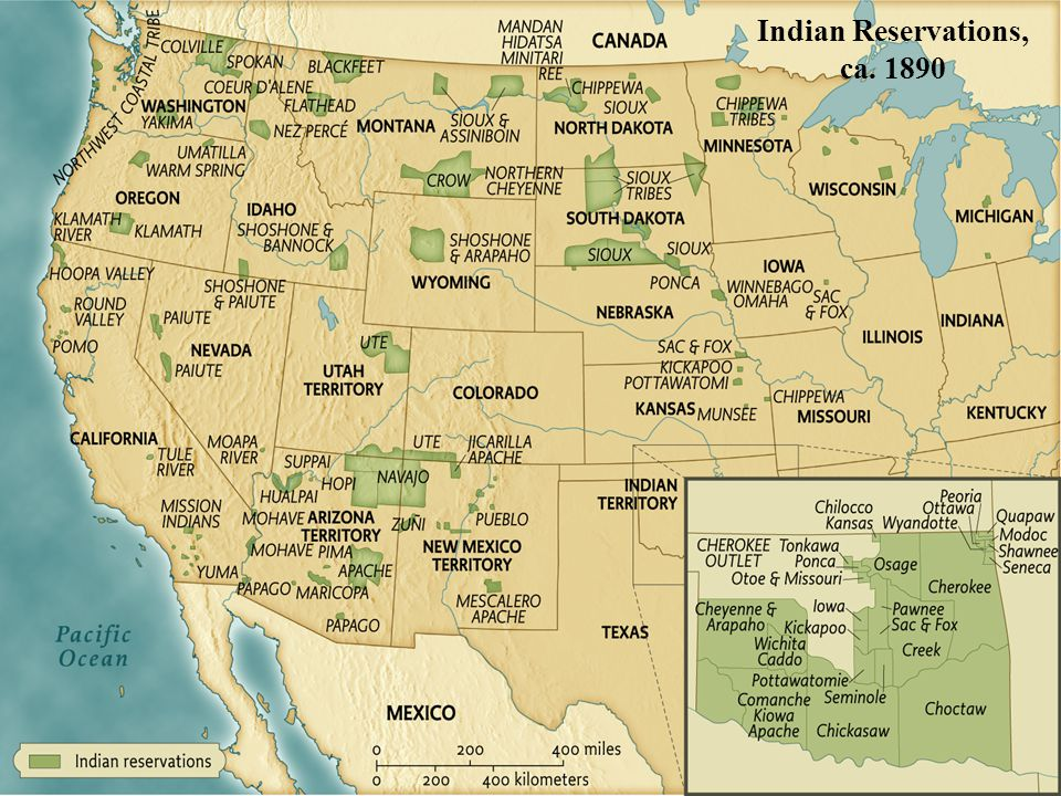 Indian Reservations, ca • pg. 611