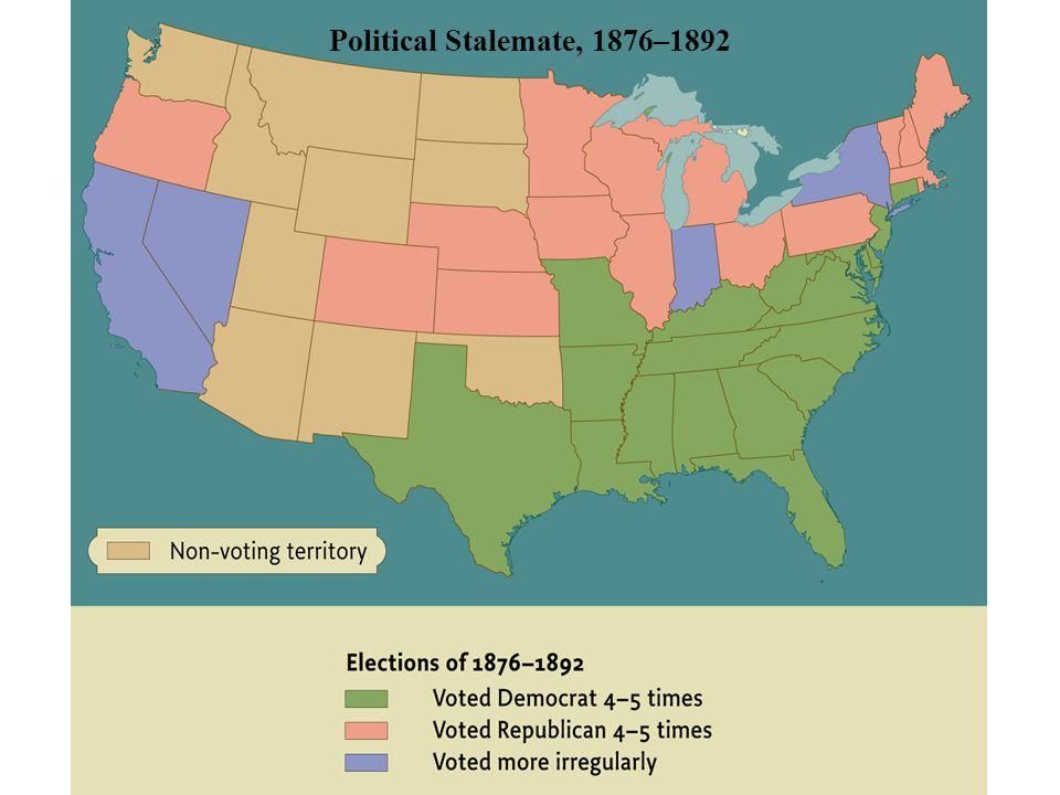 Political Stalemate, 1876–1892 • pg. 616