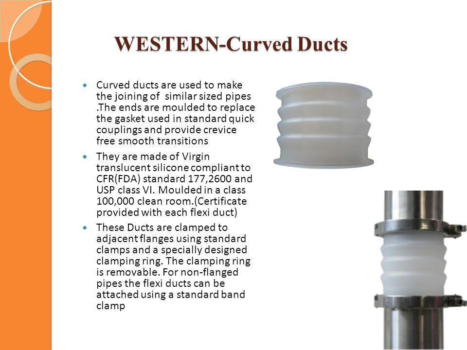 WESTERN-Curved Ducts