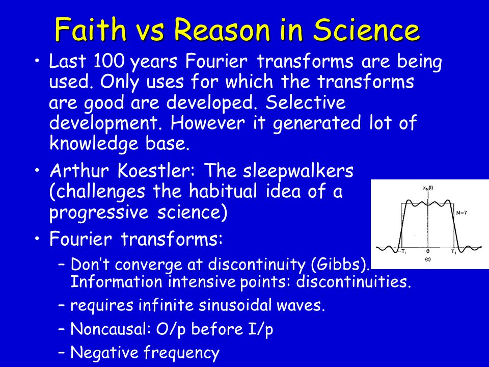 Faith vs Reason in Science