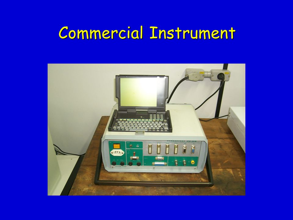 Commercial Instrument