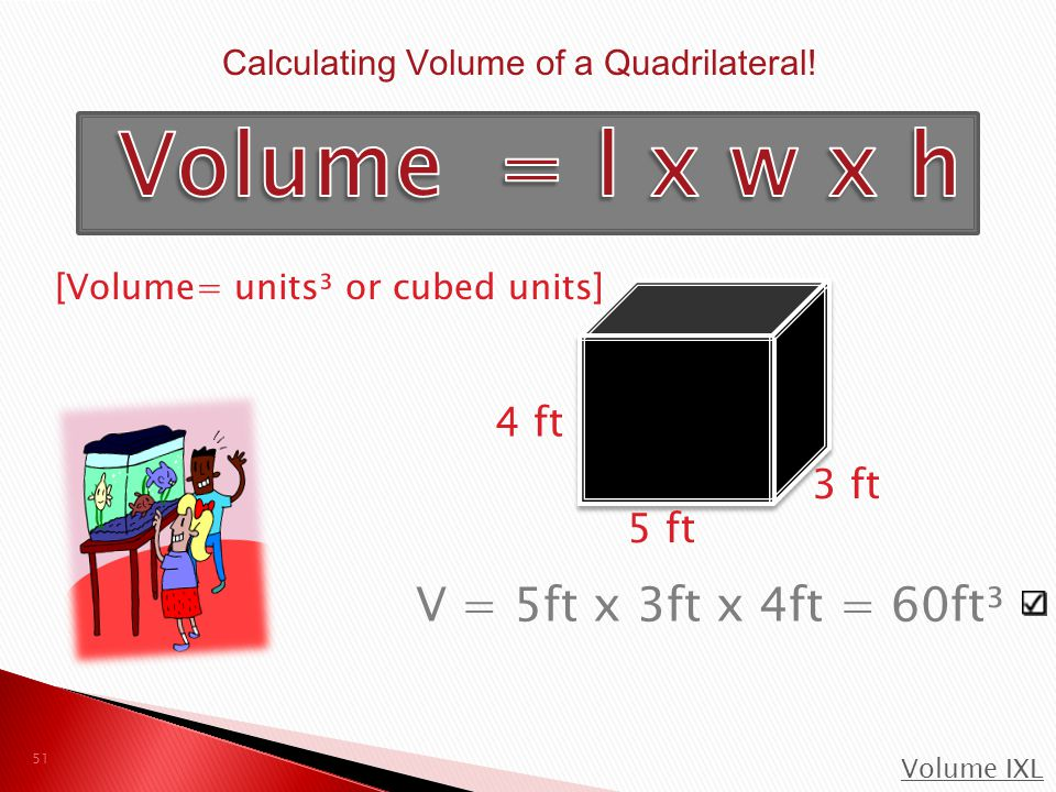 Calculating Volume of a Quadrilateral!