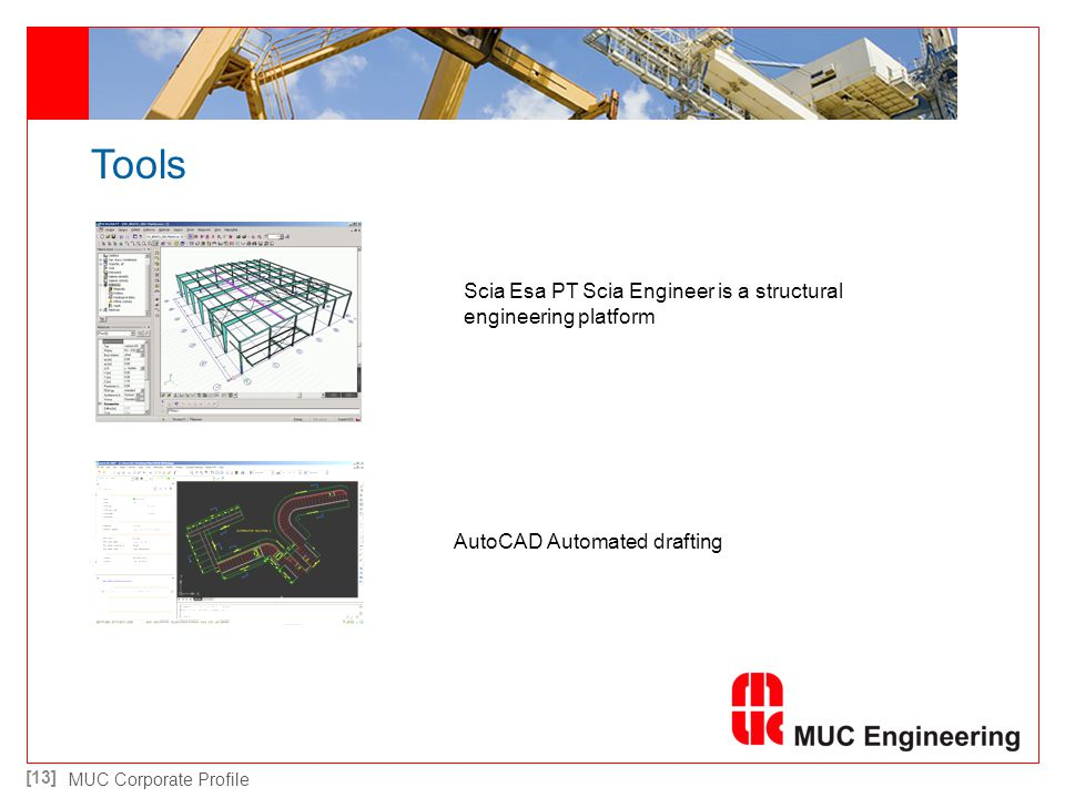 Tools Scia Esa PT Scia Engineer is a structural engineering platform