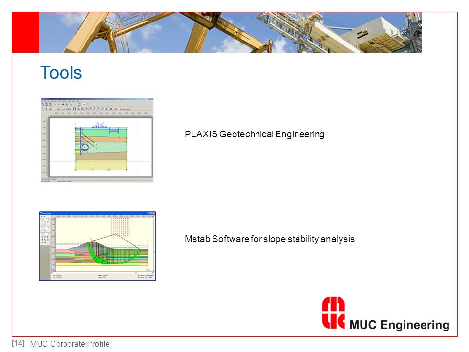 Tools PLAXIS Geotechnical Engineering
