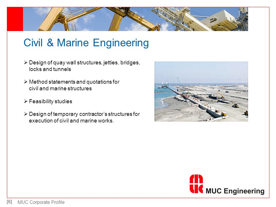 Civil & Marine Engineering