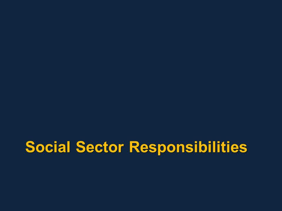 Social Sector Responsibilities