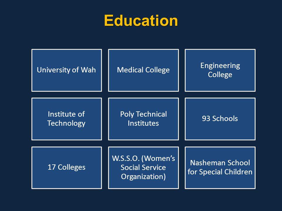Education University of Wah Medical College Engineering College