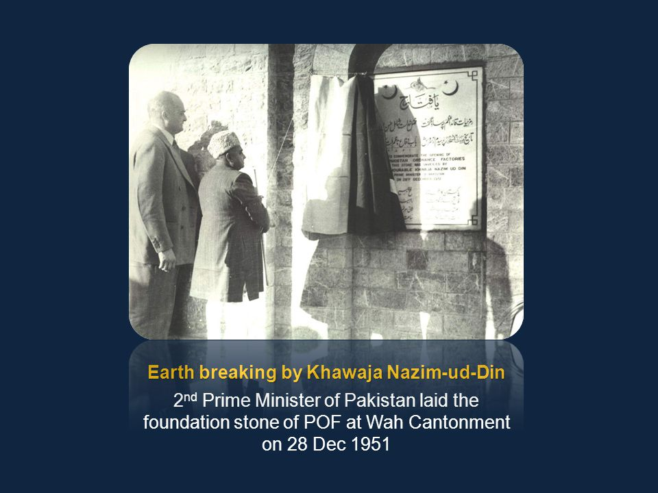 Earth breaking by Khawaja Nazim-ud-Din