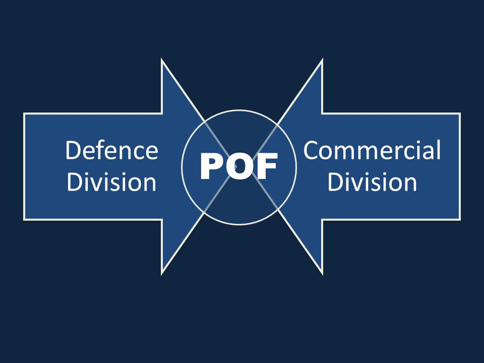 Defence Division Commercial Division POF