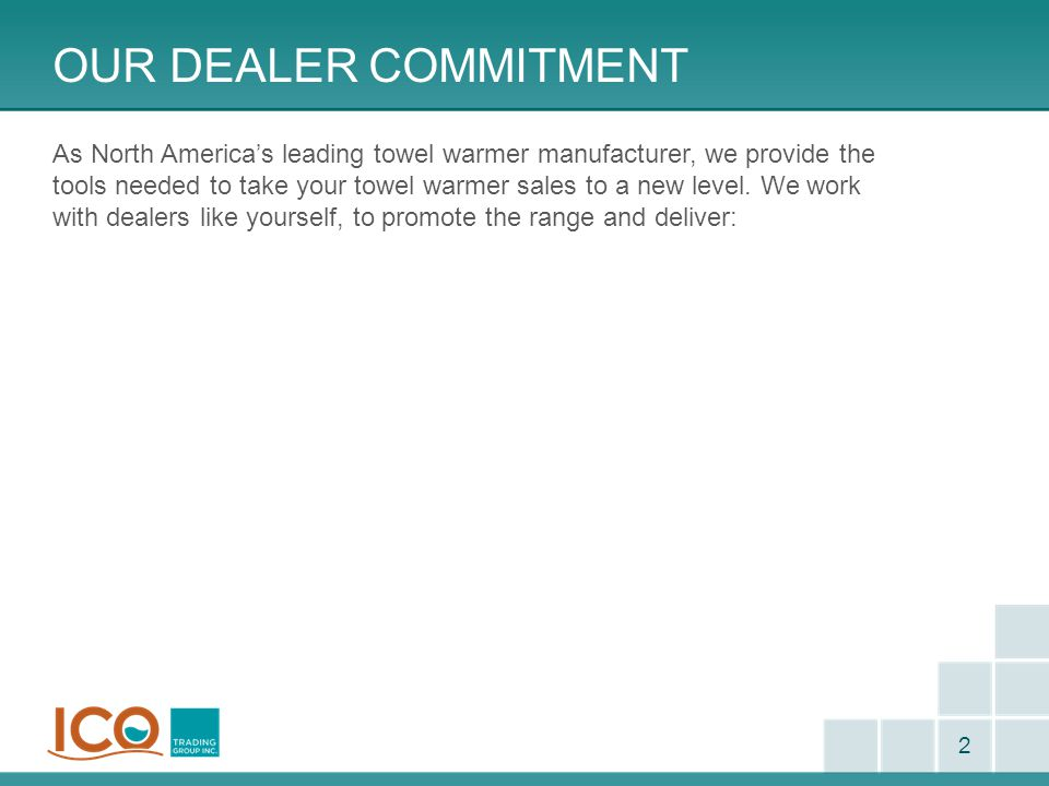 Our Dealer commitment