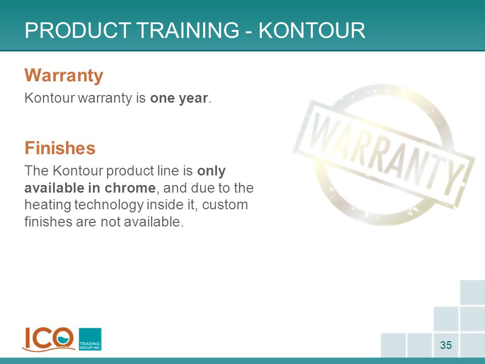Product Training - kontour