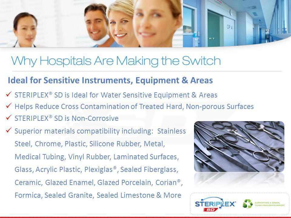 Ideal for Sensitive Instruments, Equipment & Areas