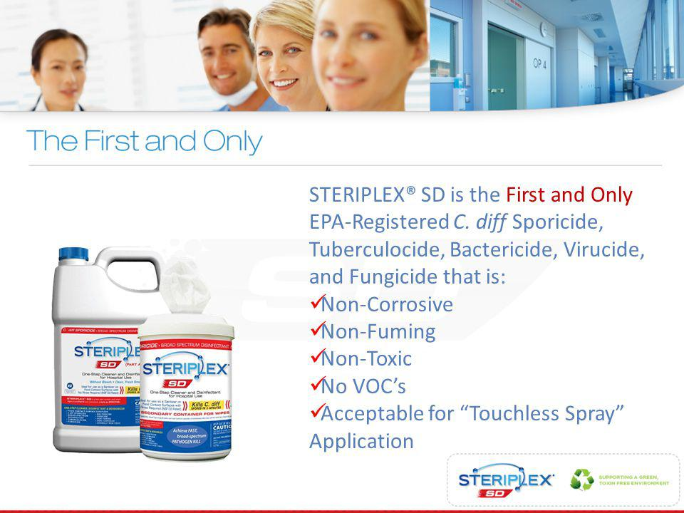 STERIPLEX® SD is the First and Only