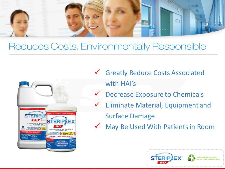 Greatly Reduce Costs Associated with HAI's
