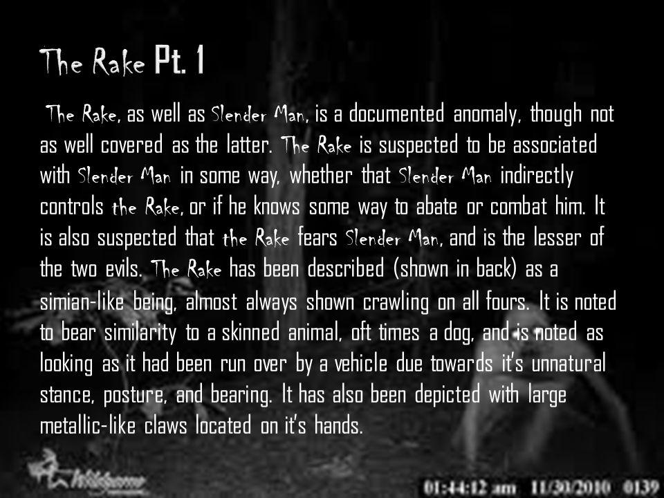 The Rake Pt. 1