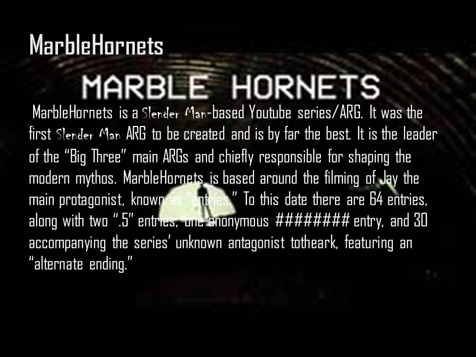 MarbleHornets