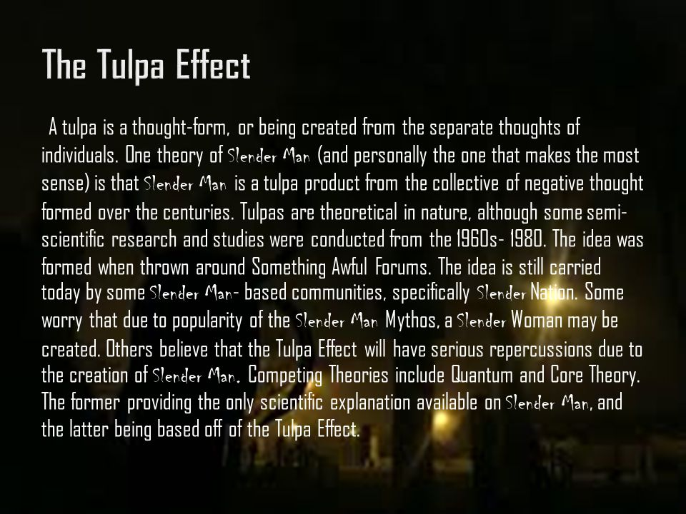 The Tulpa Effect