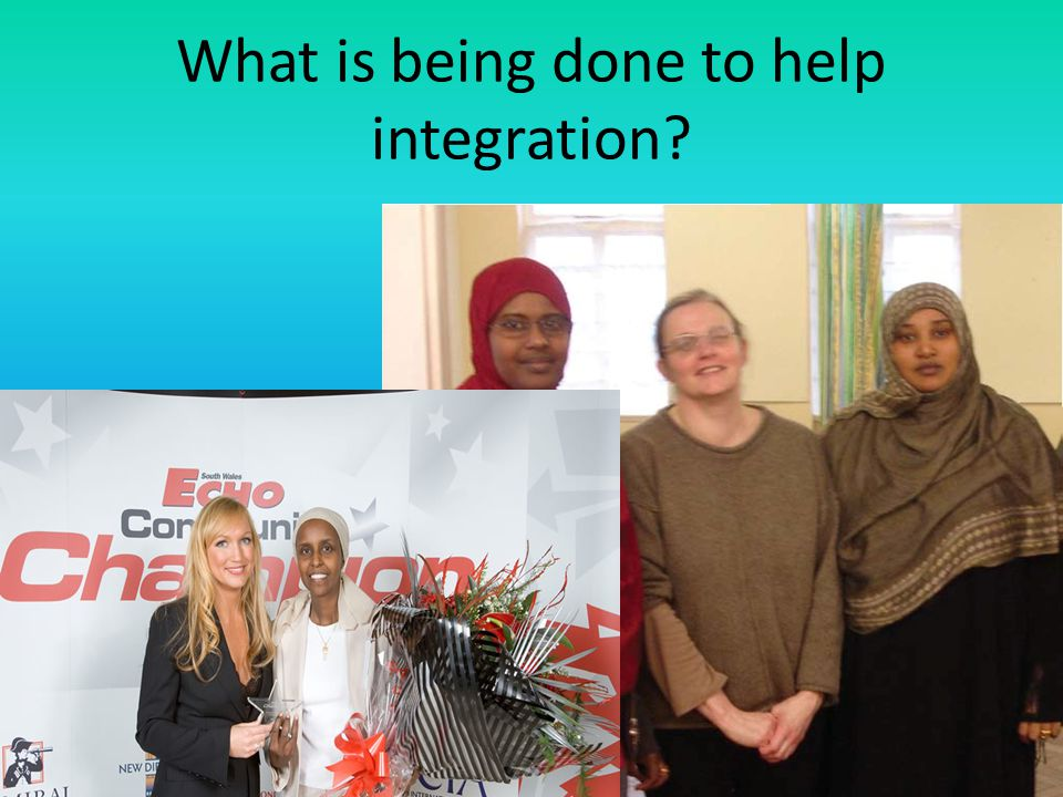 What is being done to help integration