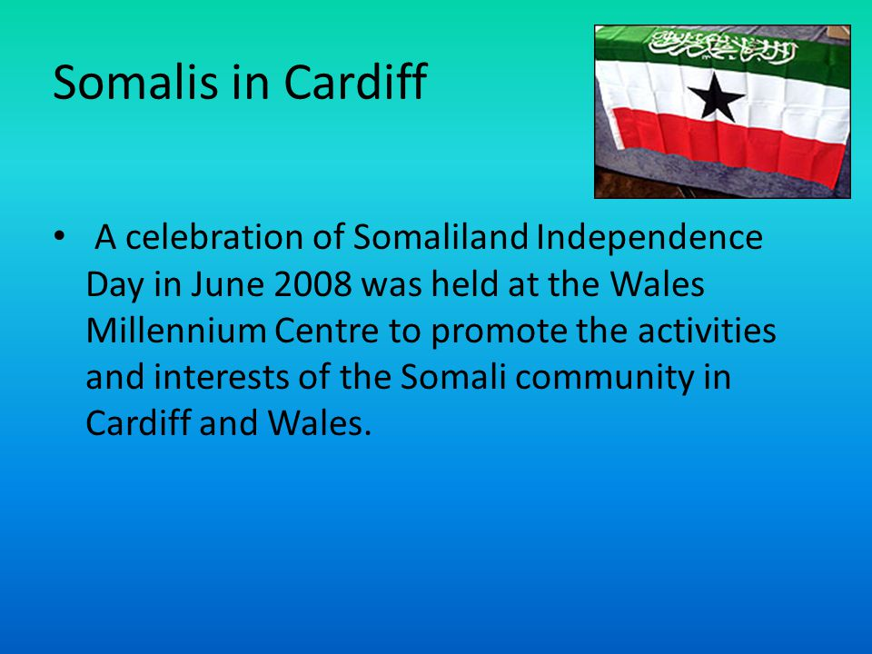 Somalis in Cardiff