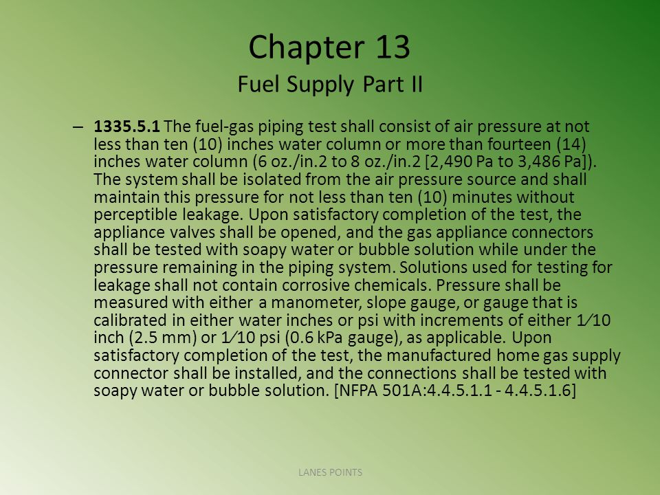 Chapter 13 Fuel Supply Part II