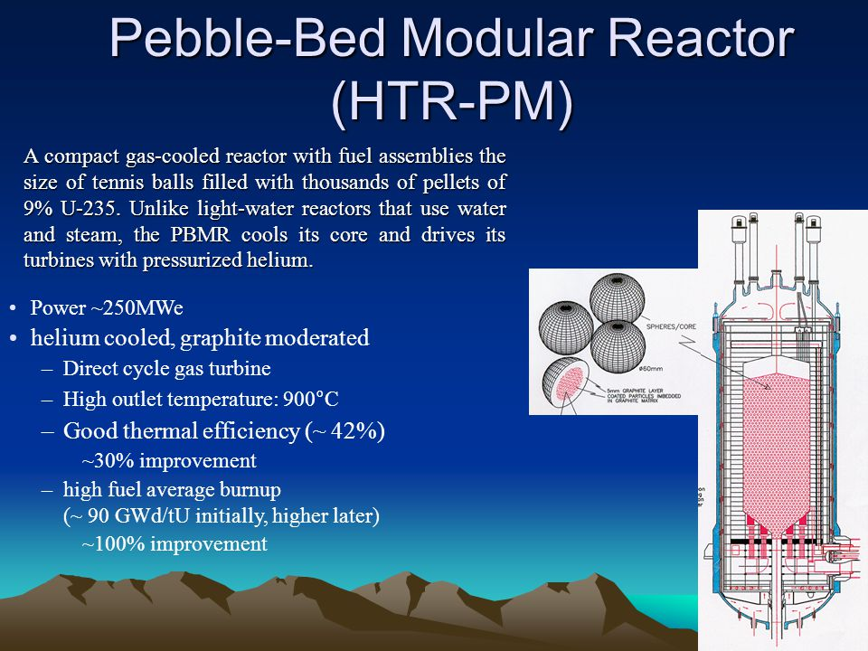 Pebble-Bed Modular Reactor (HTR-PM)
