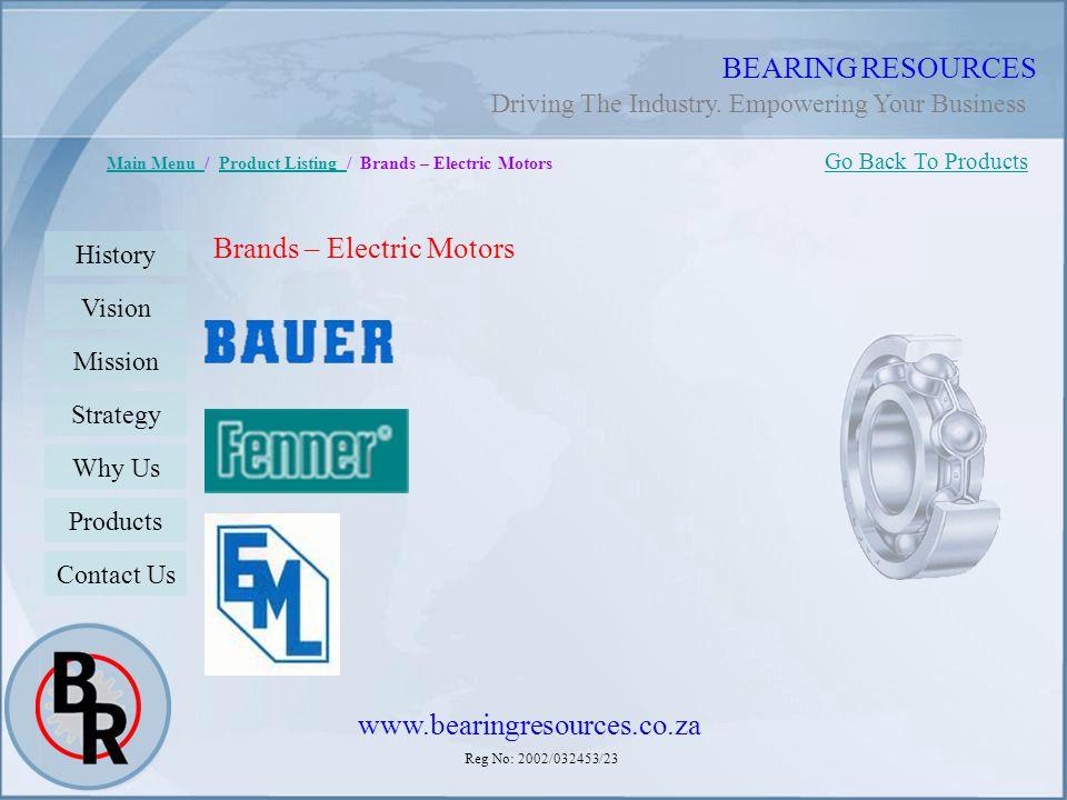 Brands – Electric Motors