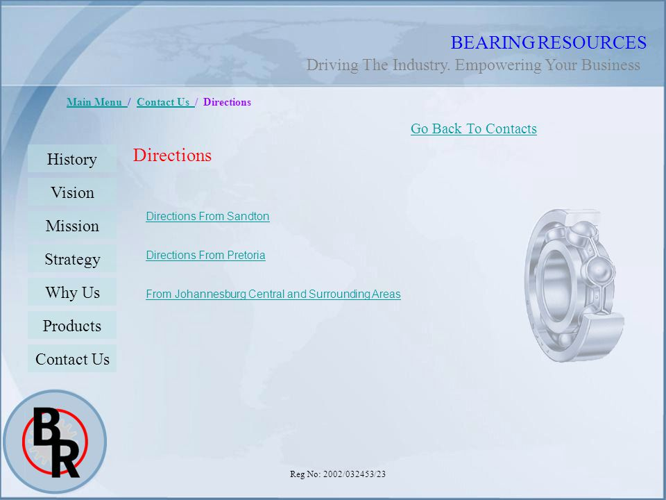 BEARING RESOURCES Directions