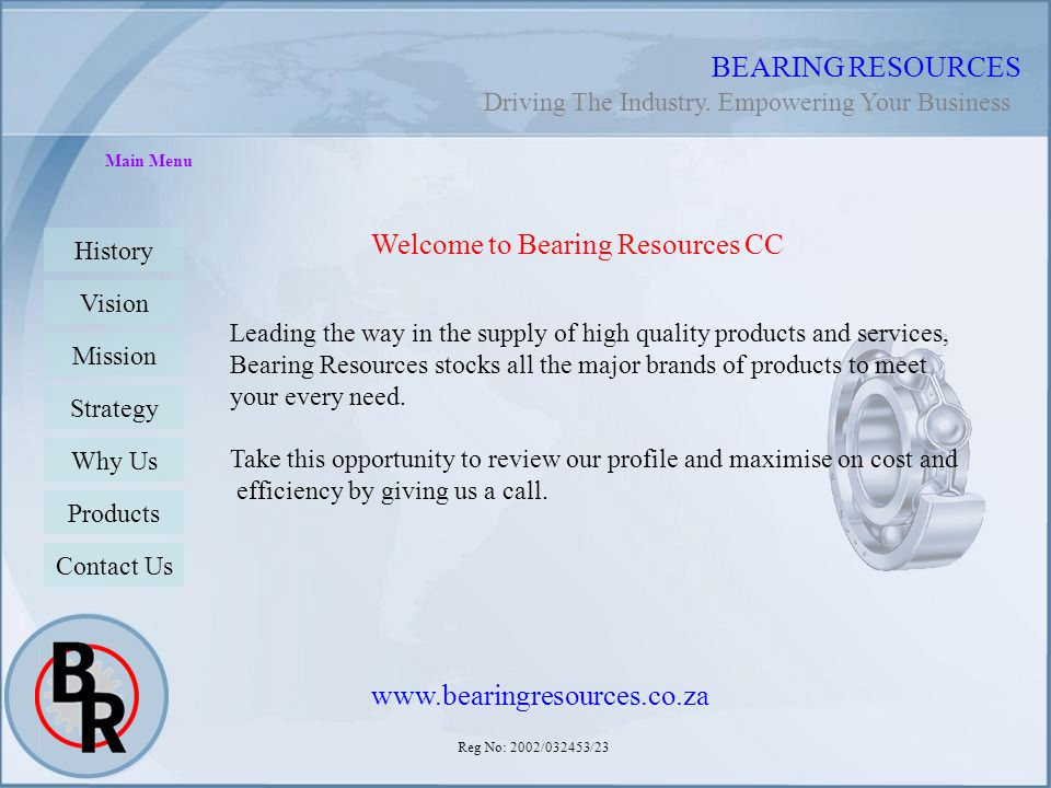 Welcome to Bearing Resources CC