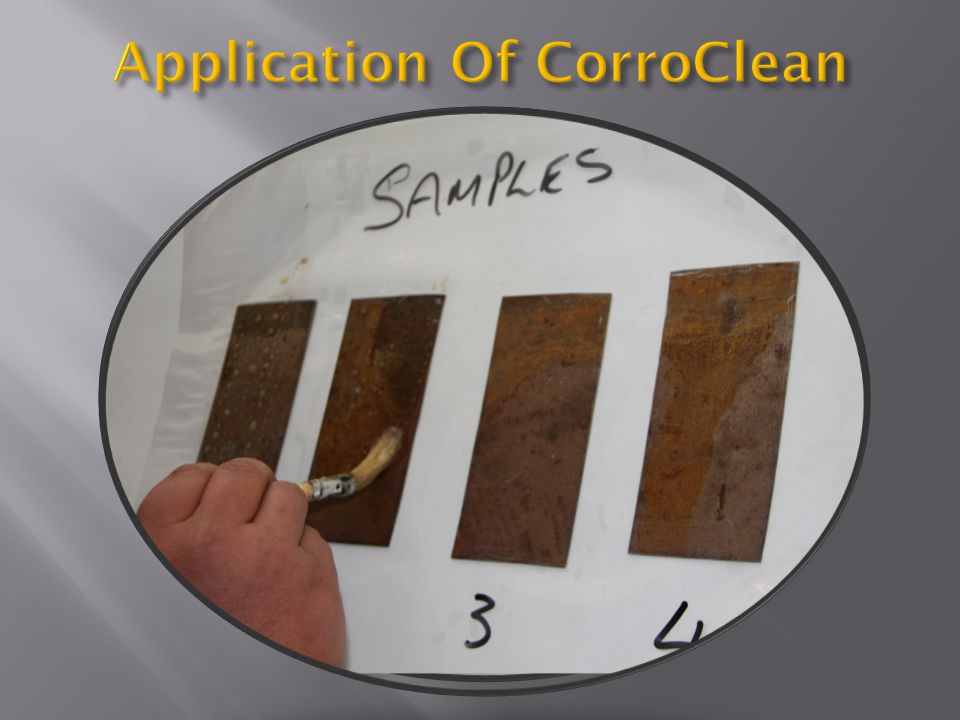 Application Of CorroClean