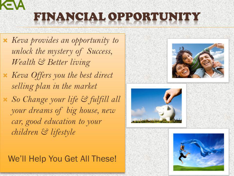 Financial Opportunity