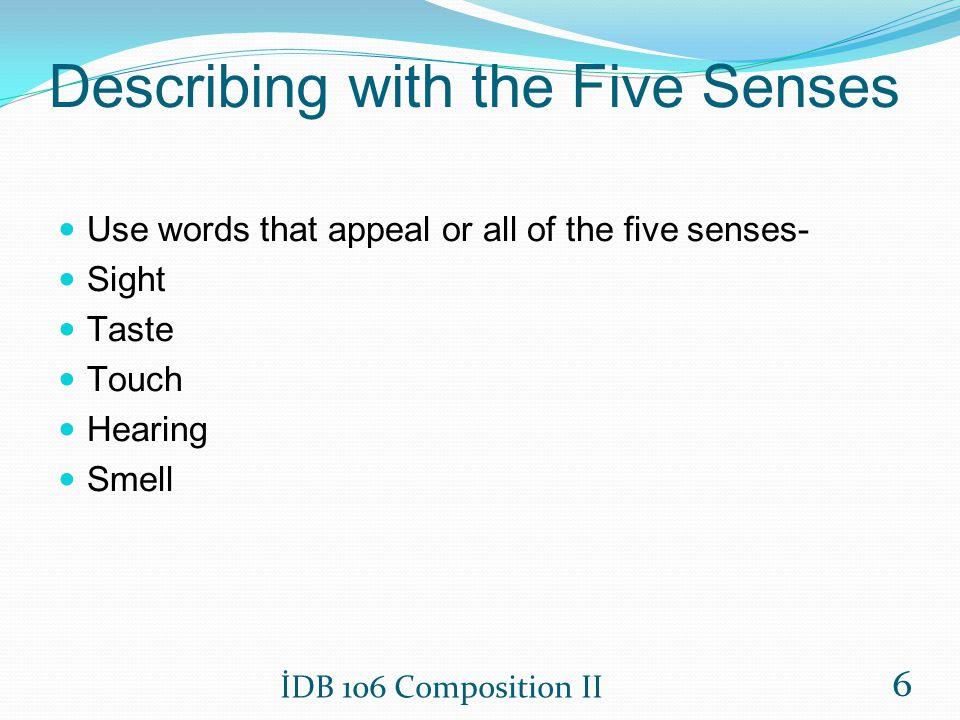 Describing with the Five Senses