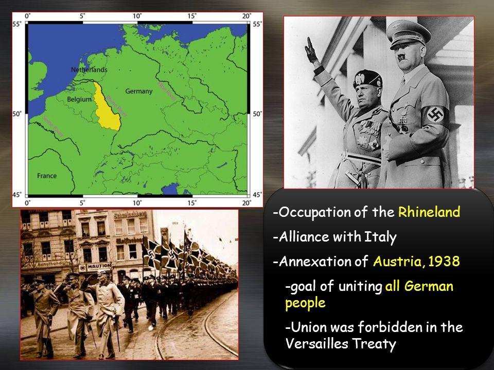 -Occupation of the Rhineland