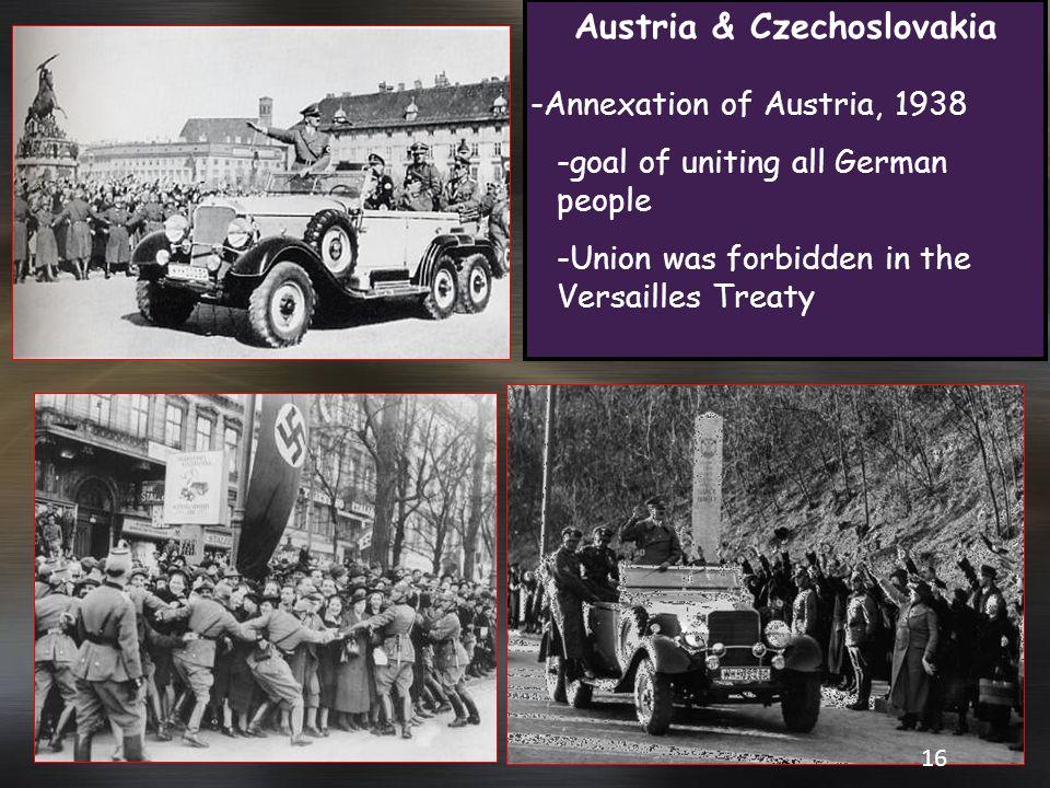 Austria & Czechoslovakia