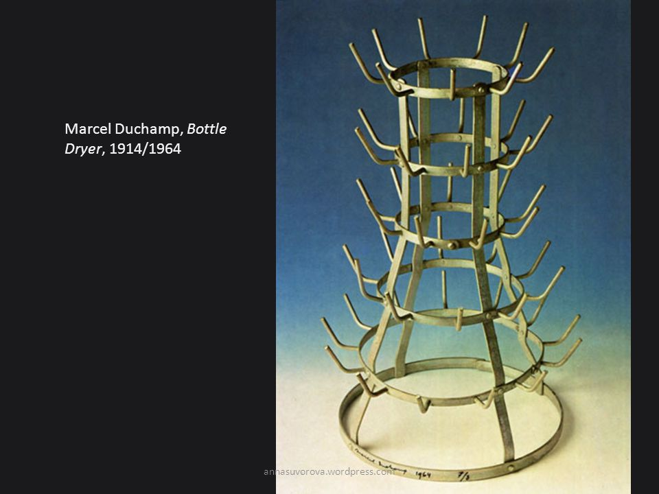 Marcel Duchamp, Bottle Dryer, 1914/1964