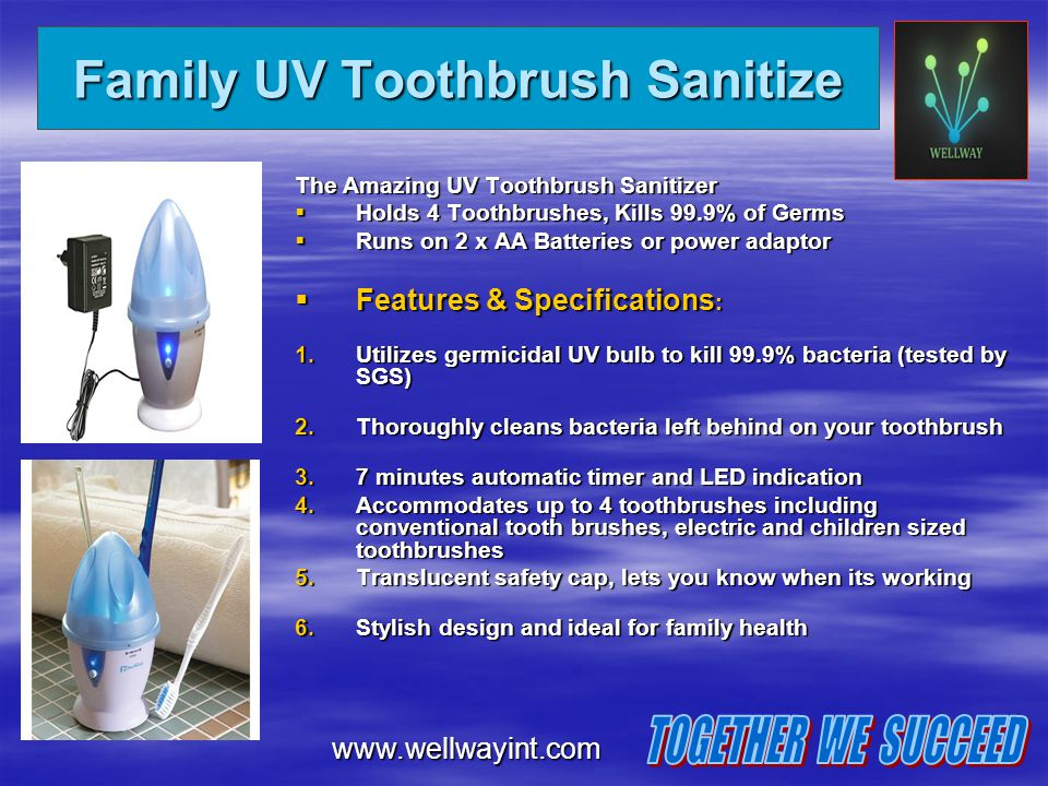 Family UV Toothbrush Sanitize