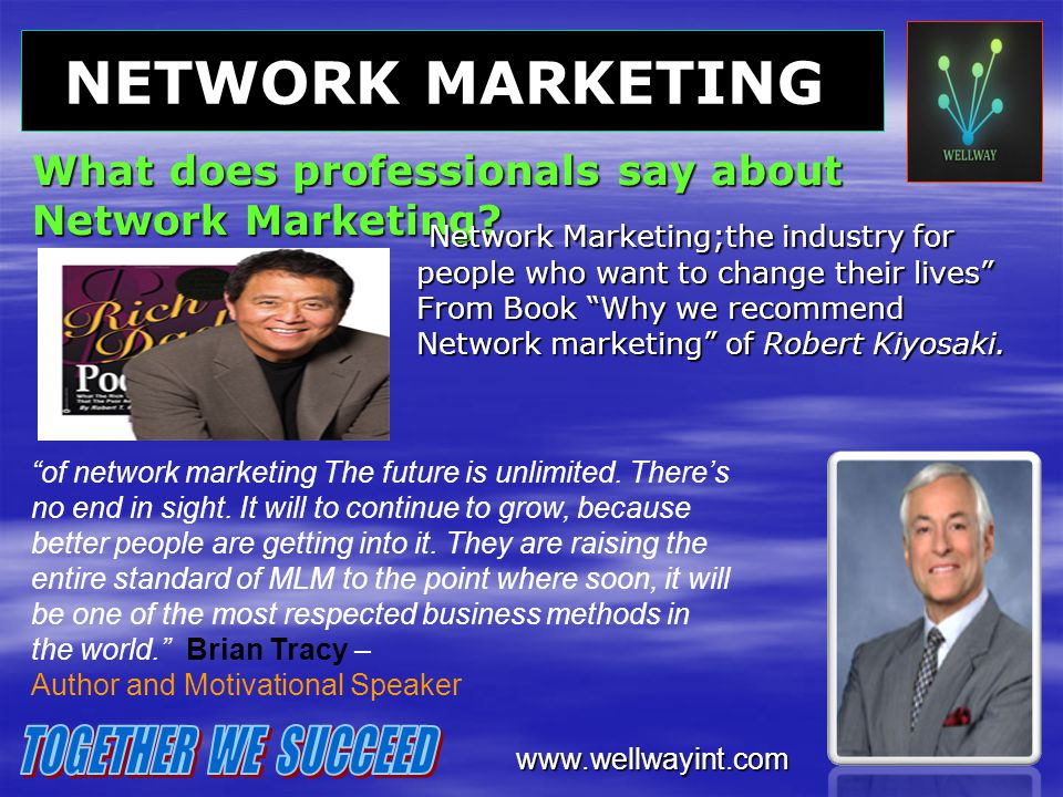 What does professionals say about Network Marketing