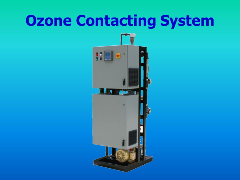 Ozone Contacting System