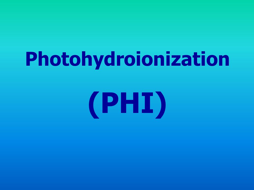 Photohydroionization