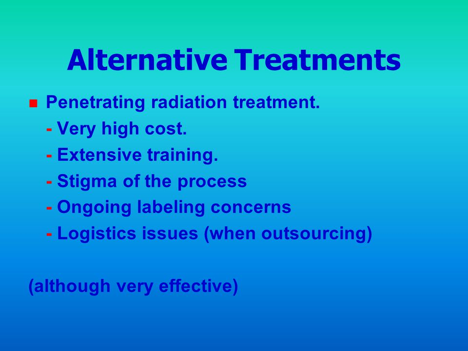 Alternative Treatments
