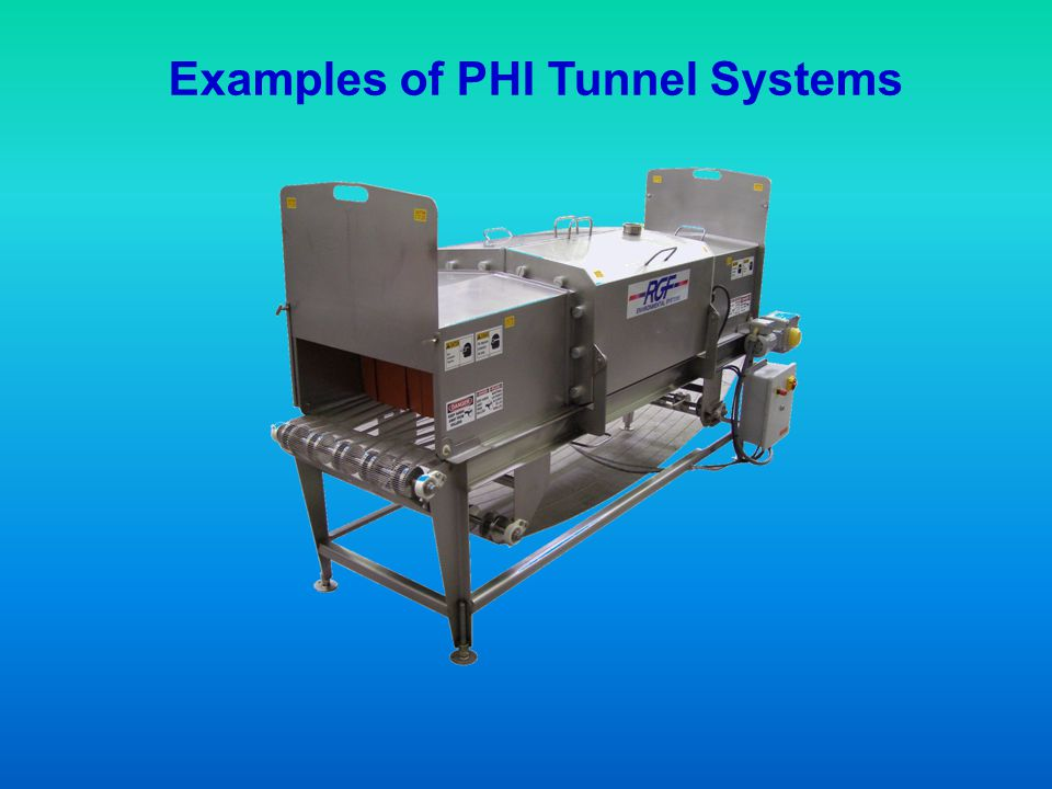 Examples of PHI Tunnel Systems