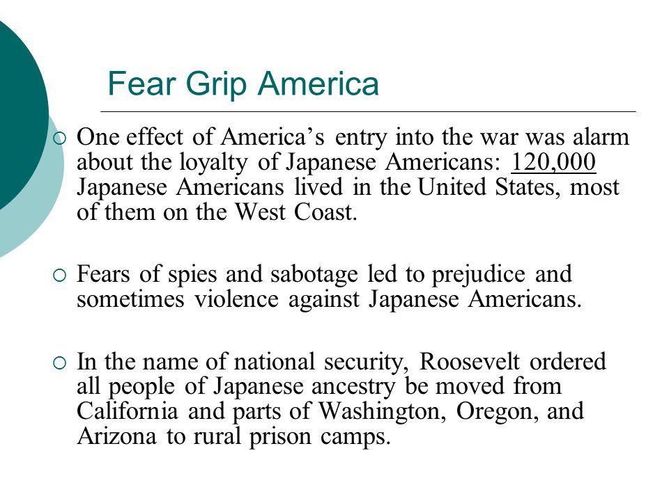 Fear Grip America