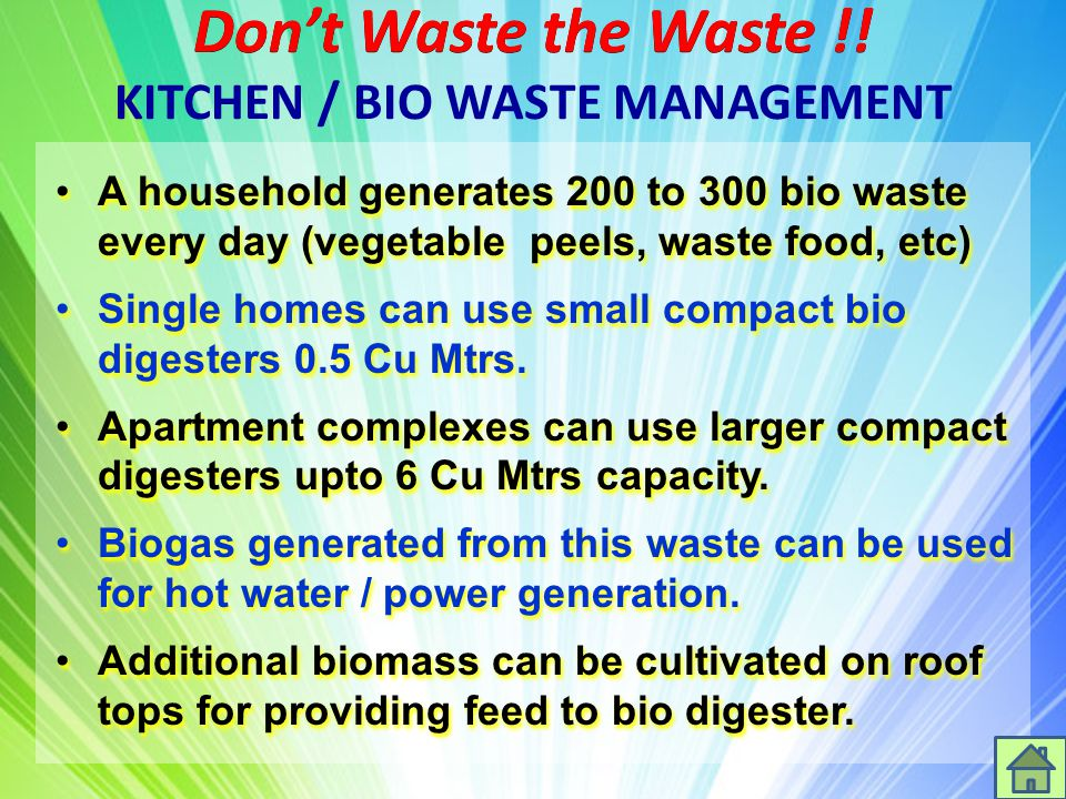 Waste Management Solutions  Ppt Download