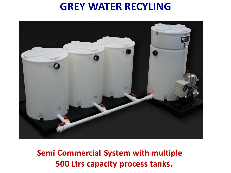 Semi Commercial System with multiple 500 Ltrs capacity process tanks.